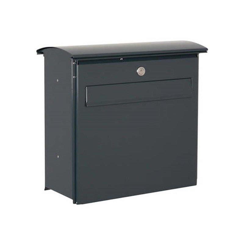 briefkasten likno 8003 rd t r vorn ral 7016 anthrazitgrau. Black Bedroom Furniture Sets. Home Design Ideas