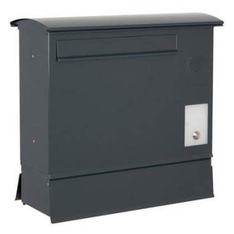 briefkasten likno 8000 rd t r hinten zf ke rechts ral 7016. Black Bedroom Furniture Sets. Home Design Ideas